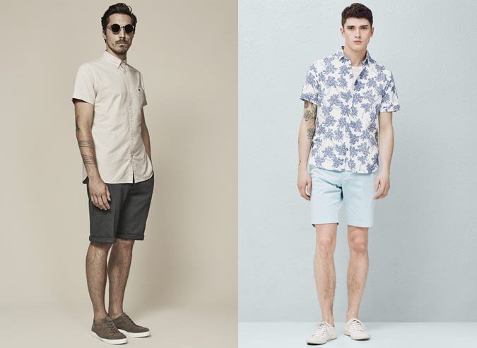 short shirt shorts 1