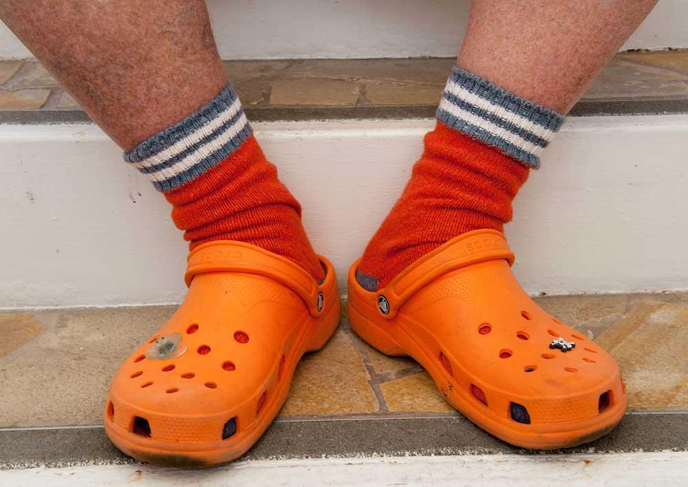 Crocs-Sock
