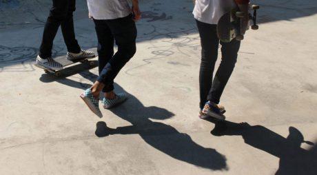 Vans-slip-on-checkerboard