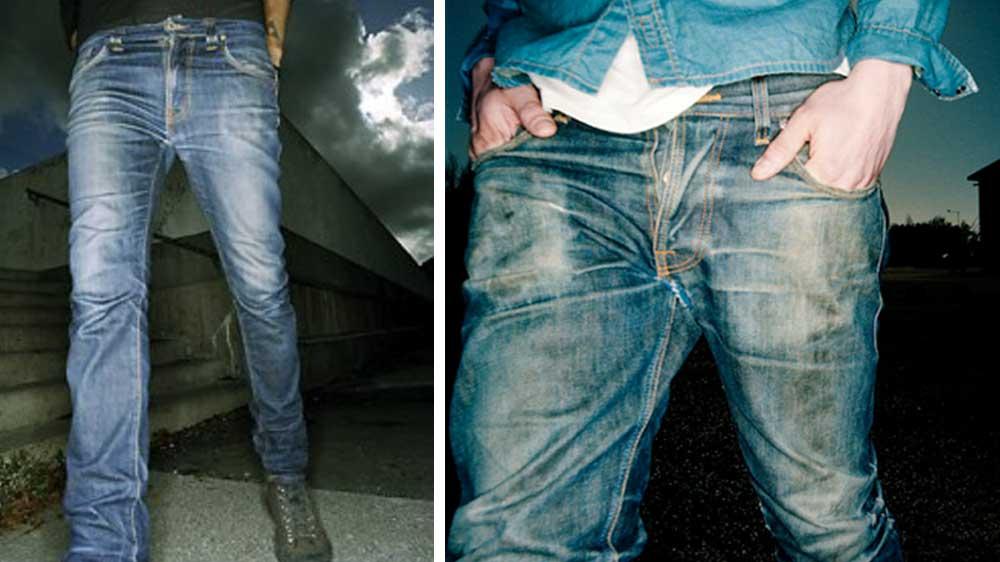 Nudie Jeans ผ้าฝ้าย Organic Cotton