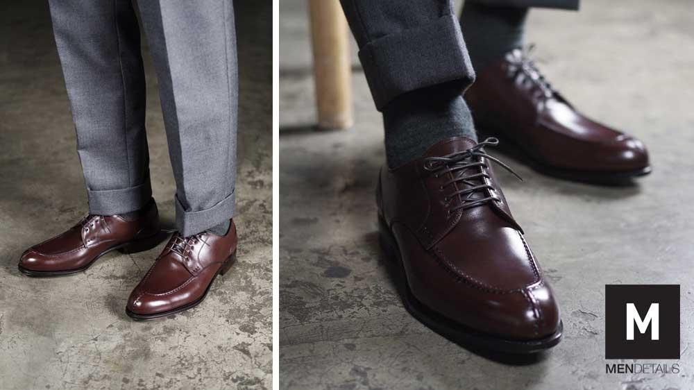 รองเท้าหนัง Oxford กับ Derby