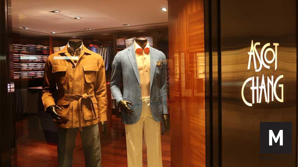 Hong Kong classic menswear