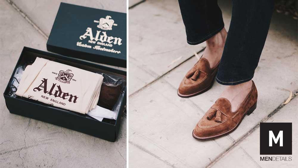 Alden เลือกซื้อ รองเท้าหนัง