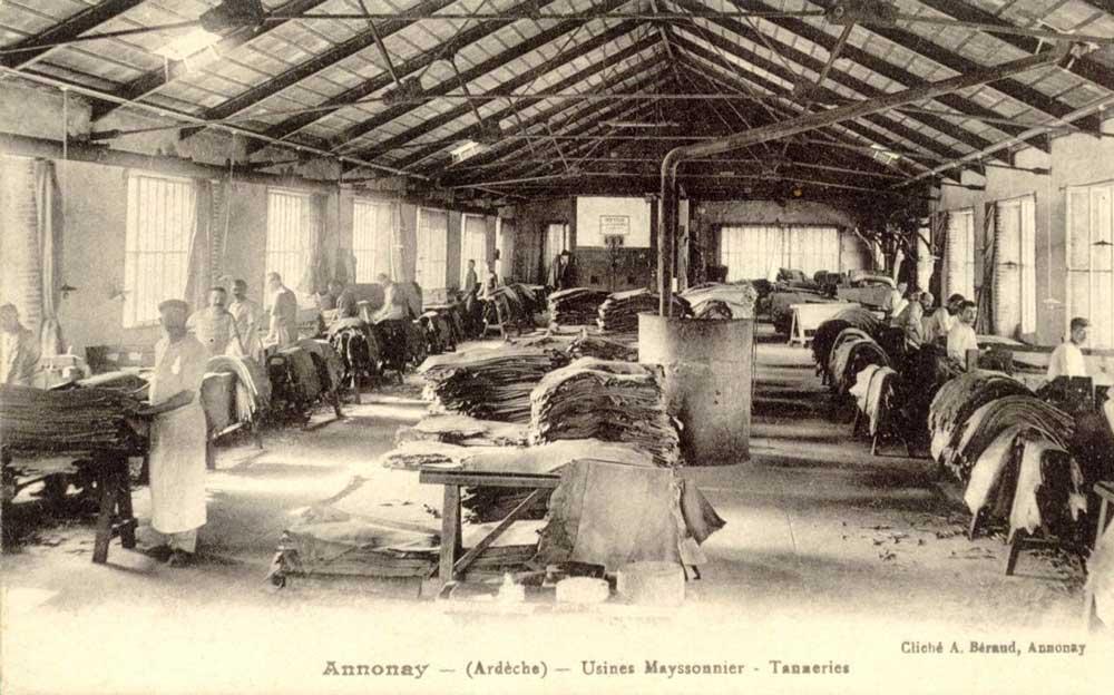 โรงฟอกหนัง Tannerie d'Annonay