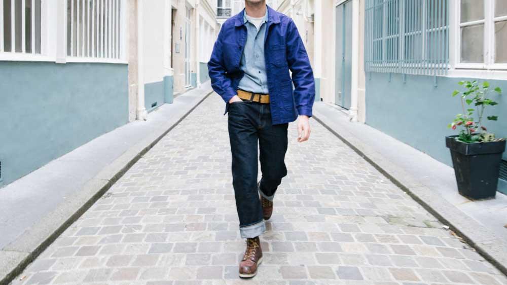 02-เสื้อ-French-Jacket-Vintage-Bleu-de-Travail-Chore-JUNE20