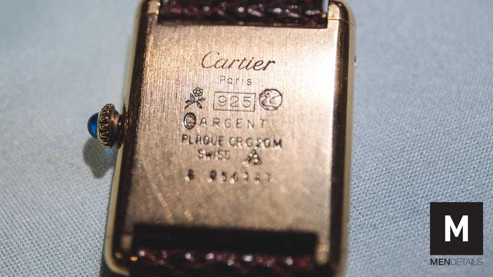 นาฬิกา Cartier must de Cartier