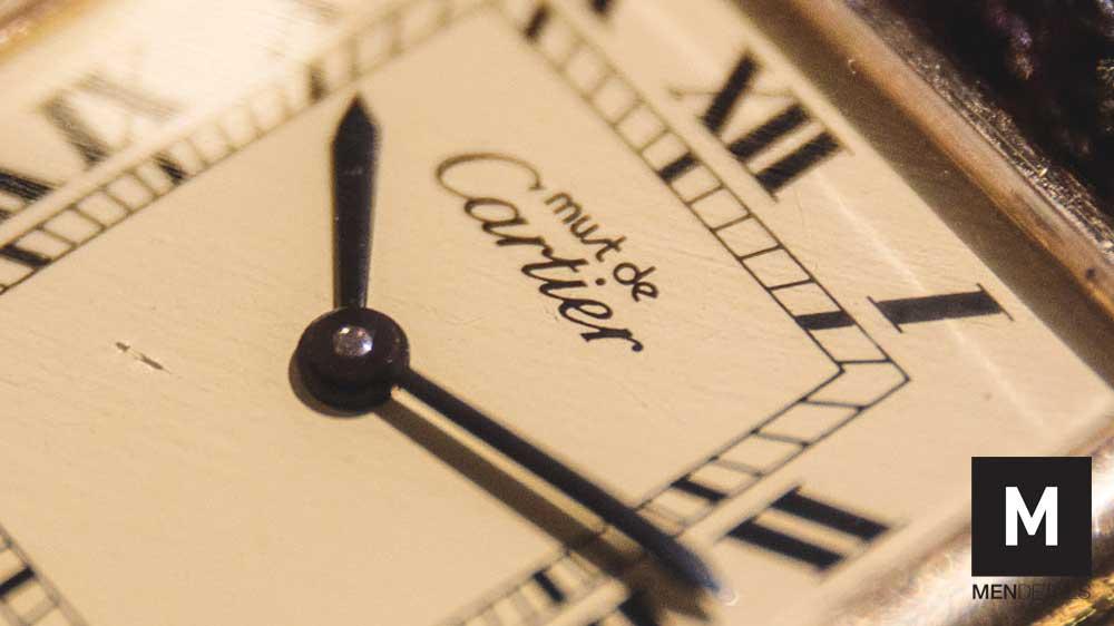 นาฬิกา Cartier must de Cartier Tank Watch