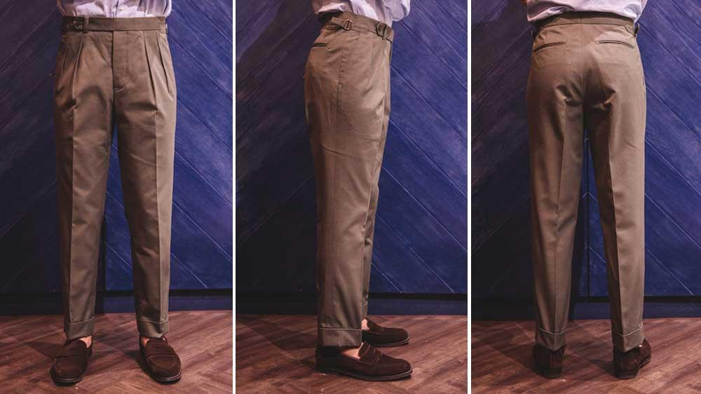 ตัดกางเกงผู้ชาย NOTCH